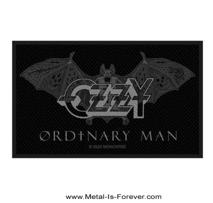 OZZY OSBOURNE (オジー・オズボーン) ORDINARY MAN BAT 「オーディナリー・マン・バット」 ワッペン