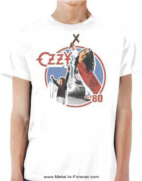 OZZY OSBOURNE (オジー・オズボーン) BLIZZARD OF OZ '80 「ブリザード・オブ・オズ〜血塗られた英雄伝説 '80」 Tシャツ(白)
