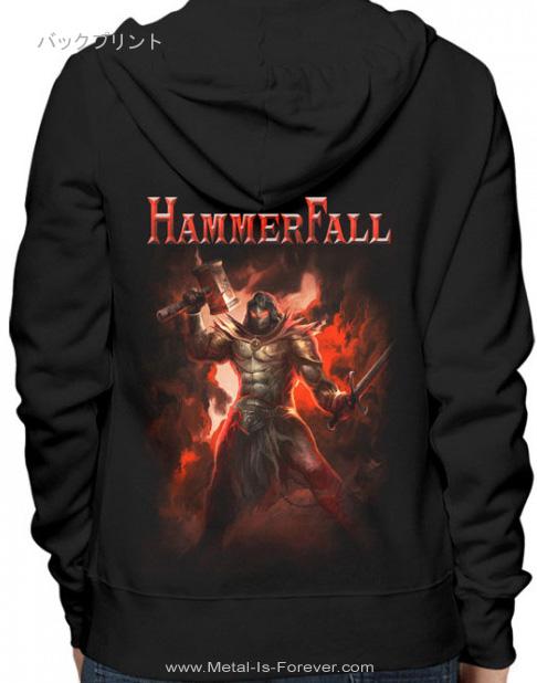 HAMMERFALL -ハンマーフォール- YOU WIN OR YOU DIE 「ユー・ウイン・オア・ユー・ダイ」 ジップ・パーカー