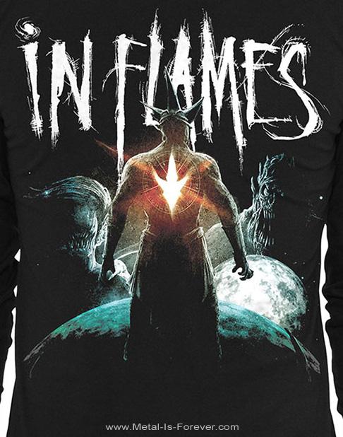 IN FLAMES (イン・フレイムス) TAKE THIS LIFE 「テイク・ディス・ライフ」 長袖Tシャツ