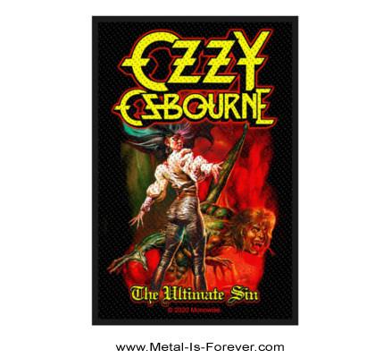 OZZY OSBOURNE (オジー・オズボーン)  THE ULTIMATE SIN 「罪と罰」 ワッペン