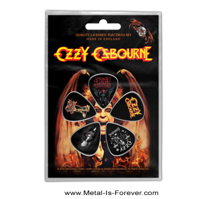 OZZY OSBOURNE (オジー・オズボーン) ORDINARY MAN 「オーディナリー・マン」 ピック・セット