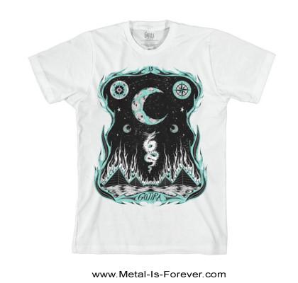 GOJIRA (ゴジラ) WHERE DRAGONS DWELL「ウェア・ドラゴンズ・ドゥウェル」 Tシャツ(白)