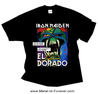 IRON MAIDEN (アイアン・メイデン) EL DORADO 「エル・ドラド」 Tシャツ