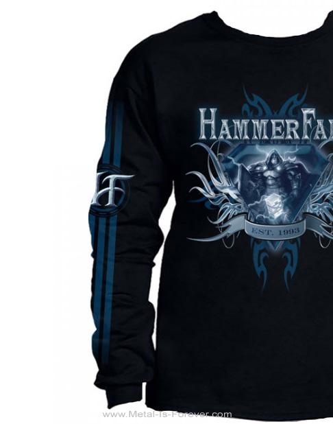 HAMMERFALL -ハンマーフォール- EST. 1993 「エスト. 1993」 長袖Tシャツ