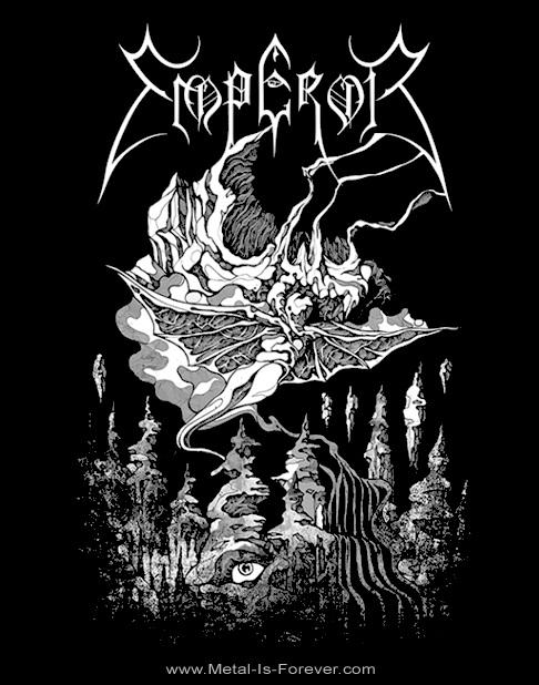 EMPEROR -エンペラー- ENSORCELLED BY KHAOS 「迷宮への誘い」 Tシャツ