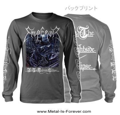 EMPEROR -エンペラー- IN THE NIGHTSIDE ECLIPSE 「闇の皇帝」 長袖Tシャツ(チャコール・グレー)