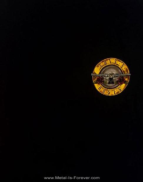 GUNS N' ROSES (ガンズ・アンド・ローゼズ) APPETITE FOR DESTRUCTION 「アペタイト・フォー・ディストラクション」 長袖Tシャツ