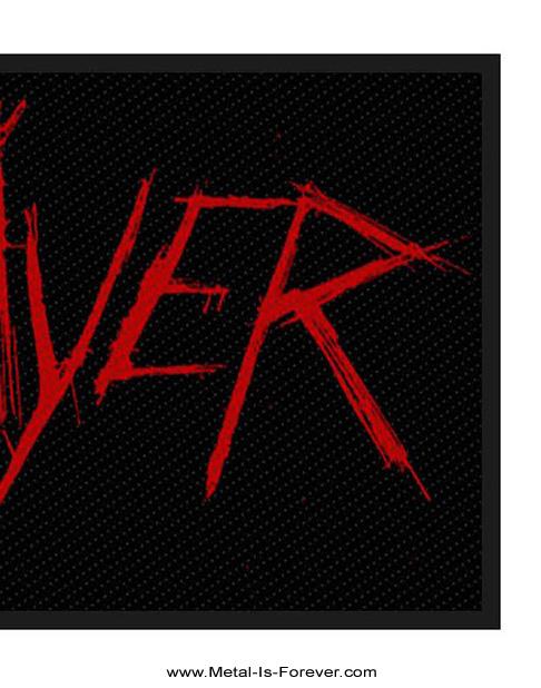 SLAYER (スレイヤー) SCRATCH LOGO 「スクラッチ・ロゴ」 ワッペン