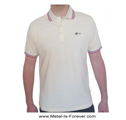 PINK FLOYD (ピンク・フロイド) DARK SIDE OF THE MOON 「狂気」 ポロシャツ(ナチュラル・カラー)