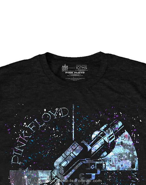 PINK FLOYD (ピンク・フロイド) WELCOME TO THE MACHINE 「ようこそマシーンへ」 マシ-ン・グリーティング・ブルー Tシャツ