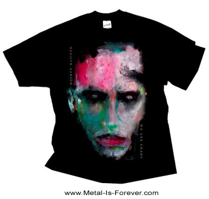 MARILYN MANSON (マリリン・マンソン) WE ARE CHAOS 「ウィー・アー・ケイオス」 Tシャツ