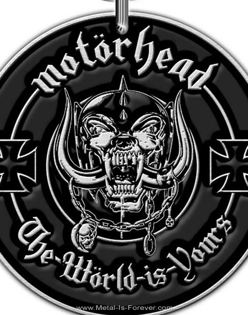 MOTORHEAD (モーターヘッド) THE WORLD IS YOURS 「ザ・ワールド・イズ・ユアーズ」 キーチェーン