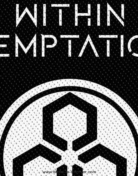 WITHIN TEMPTATION (ウィズイン・テンプテーション) UNITY LOGO 「ユニティ・ロゴ」 ワッペン
