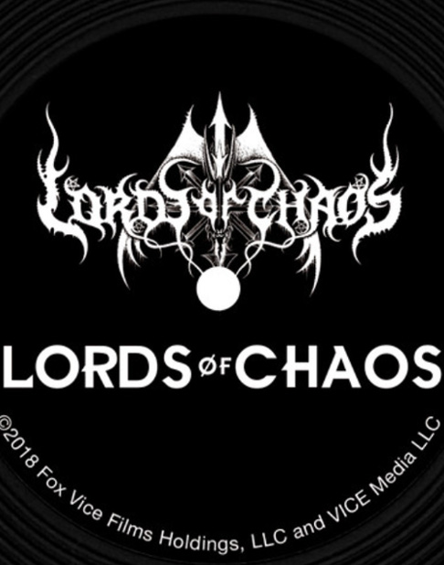 LORDS OF CHAOS 「ロード・オブ・カオス」 レコードコースター