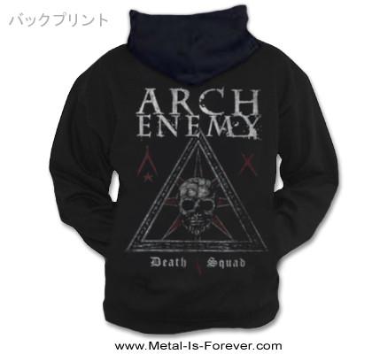 ARCH ENEMY -アーチ・エネミー- DEATH SQUAD 「デス・スクワッド」 ジップ・パーカー
