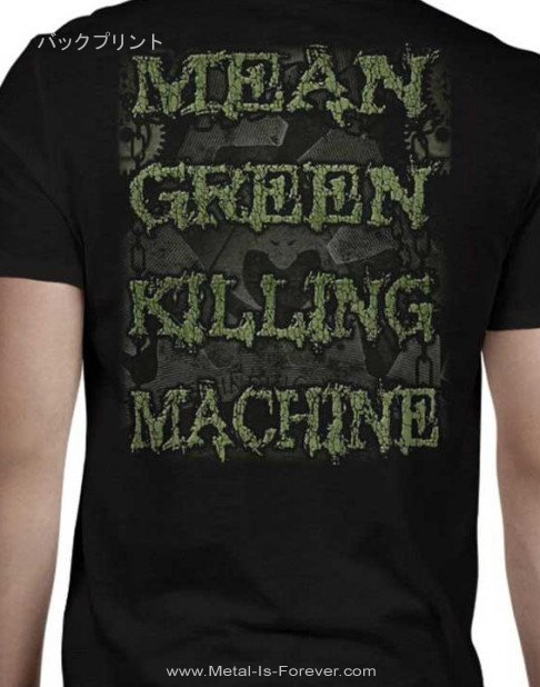 OVERKILL -オーヴァーキル- MEAN,GREEN,KILLING,MACHINE 「ミーン, グリーン, キリング・マシーン」 Tシャツ
