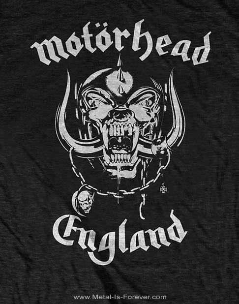 MOTORHEAD -モーターヘッド- ENGLAND 「イングランド」 Tシャツ