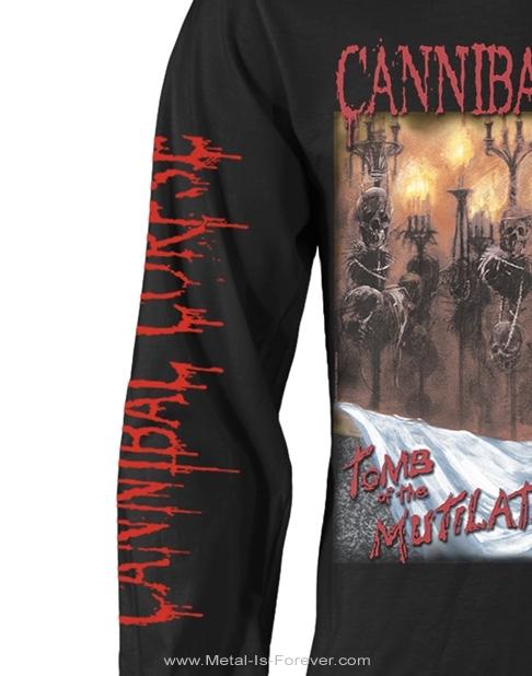 CANNIBAL CORPSE -カンニバル・コープス- TOMB OF THE MUTILATED 「殺鬼〜トゥーム・オブ・ミューティレイテッド」 長袖Tシャツ Ver.2