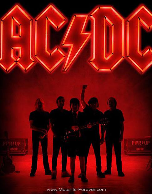 AC/DC (エーシー・ディーシー) POWER UP 「パワーアップ」 バックパッチ