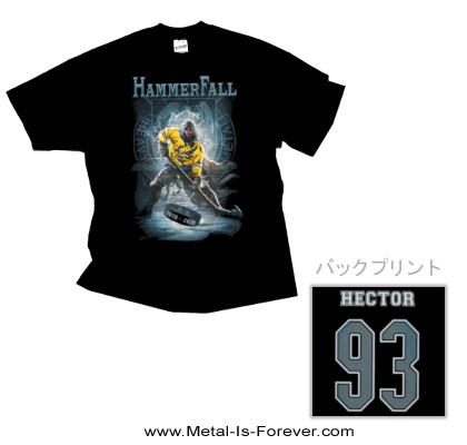 HAMMERFALL -ハンマーフォール- HECTOR HOCKEY 「ヘクター・ホッケー」 Tシャツ
