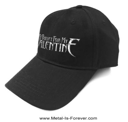 BULLET FOR MY VALENTINE -ブレット・フォー・マイ・ヴァレンタイン- LOGO 「ロゴ」 ベースボールキャップ(ソニック・シルバー)