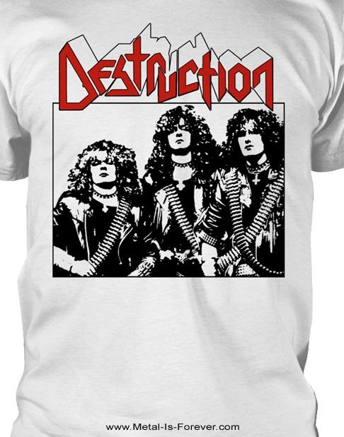DESTRUCTION -デストラクション- ALT PHOTO 「ALT・フォト」 Tシャツ(白)