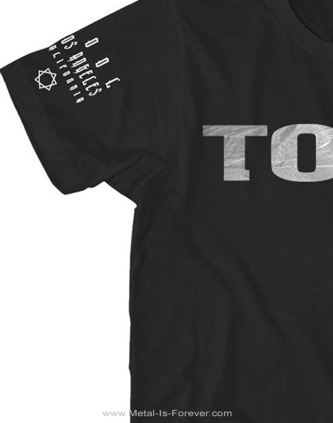 TOOL -トゥール- METALLIC SILVER LOGO 「メタリック・シルバー・ロゴ」 Tシャツ