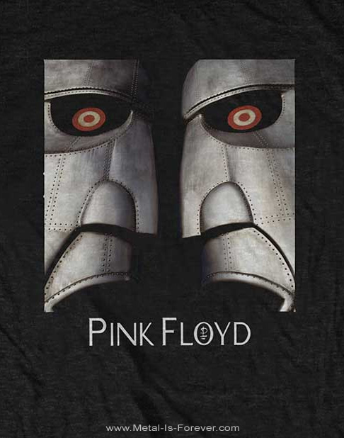 PINK FLOYD (ピンク・フロイド) METAL HEADS CLOSE-UP 「メタル・ヘッズ・クローズアップ」 Tシャツ