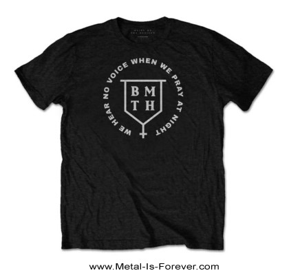 BRING ME THE HORIZON -ブリング・ミー・ザ・ホライズン- NO VOICE 「ノー・ヴォイス」 Tシャツ