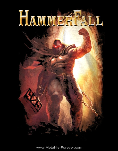 HAMMERFALL -ハンマーフォール- DETHRONE AND DEFY 「ディスローン・アンド・ディファイ」 Tシャツ