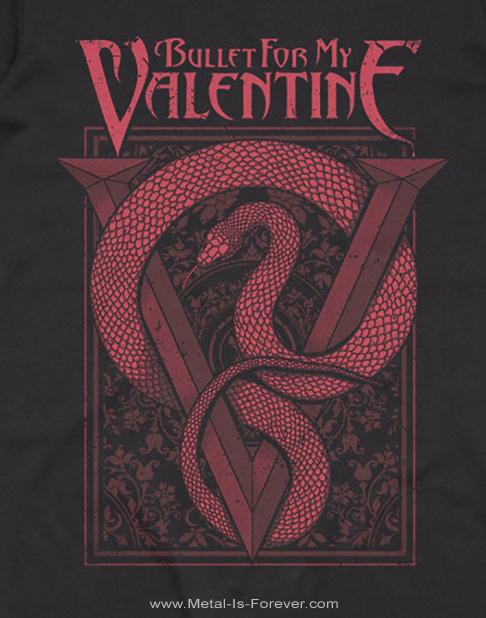 BULLET FOR MY VALENTINE -ブレット・フォー・マイ・ヴァレンタイン- RED SNAKE 「レッド・スネーク」 Tシャツ