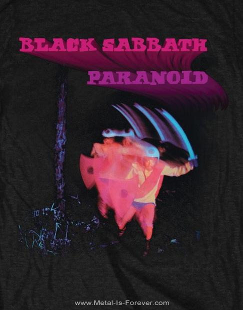 BLACK SABBATH -ブラック・サバス- PARANOID 「パラノイド」 Tシャツ