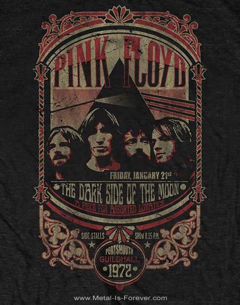 PINK FLOYD (ピンク・フロイド) PORTSMOUTH 1972 「ポーツマス・1972」 Tシャツ