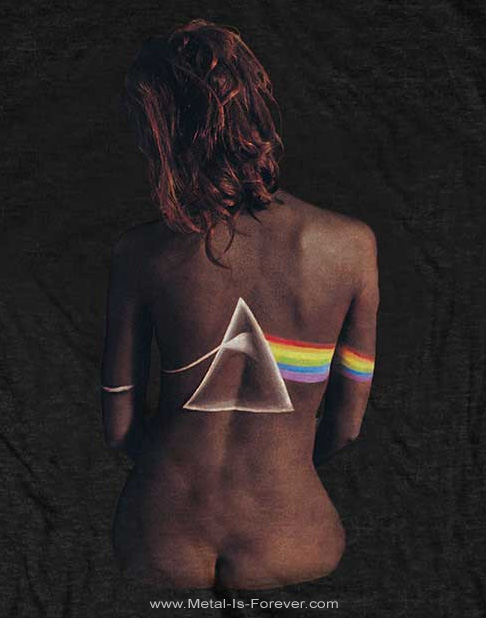 PINK FLOYD (ピンク・フロイド) THE DARK SIDE OF THE MOON 「狂気」 エボニー Tシャツ