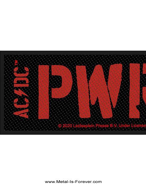 AC/DC (エーシー・ディーシー) POWER UP 「パワーアップ」 ストリップ・パッチ