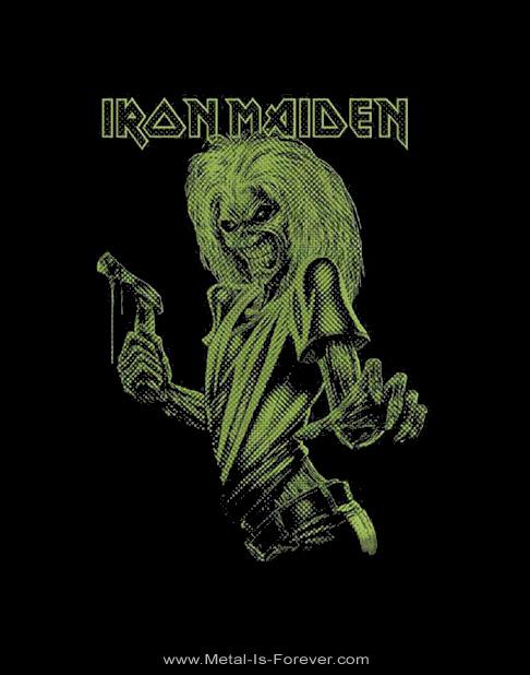 IRON MAIDEN (アイアン・メイデン) KILLERS 「キラーズ」 ワン・カラー・エディ Tシャツ