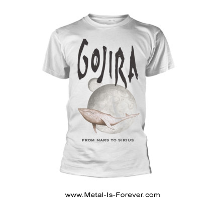GOJIRA (ゴジラ) WHALE FROM MARS 「ホエール・フロム・マーズ」 Tシャツ(白)