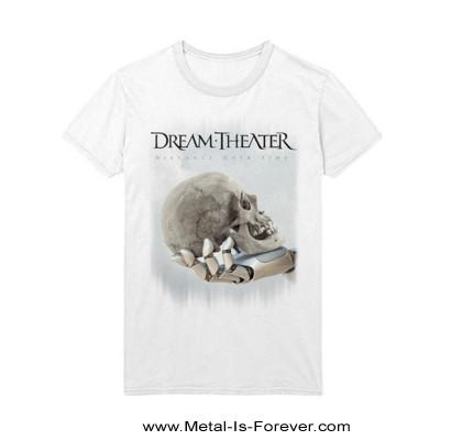 DREAM THEATER -ドリーム・シアター- DISTANCE OVER TIME 「ディスタンス・オーバー・タイム」2019年ヨーロッパ・ツアー  Tシャツ(白)