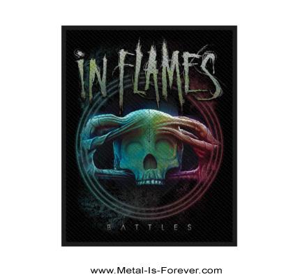 IN FLAMES (イン・フレイムス) BATTLES 「バトルズ」 ワッペン