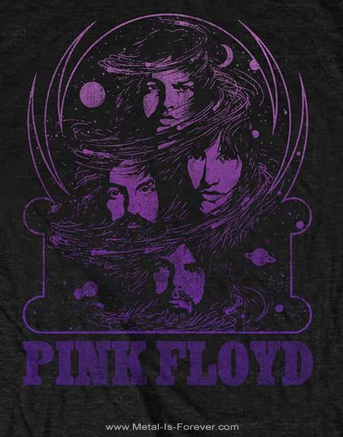 PINK FLOYD (ピンク・フロイド) PURPLE SWIRL 「パープル・スワール」 Tシャツ