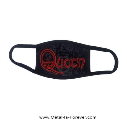 QUEEN (クイーン) RED RETRO LOGO 「レッド・レトロ・ロゴ」 マスク