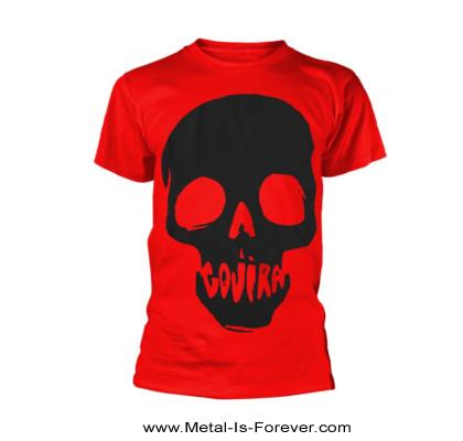 GOJIRA (ゴジラ) SKULL MOUTH 「スカル・マウス」 Tシャツ(赤)