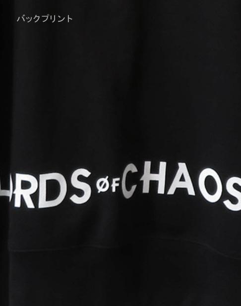 LORDS OF CHAOS 「ロード・オブ・カオス」 ユーロニモス ビッグプリント ジップアップパーカー