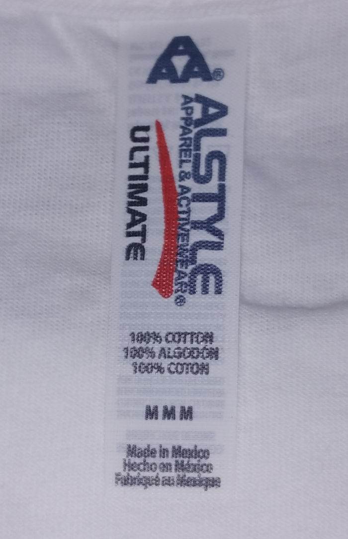 BRING ME THE HORIZON -ブリング・ミー・ザ・ホライズン- BMTH STACKED 「BMTH スタックド」 Tシャツ (白) Mサイズ