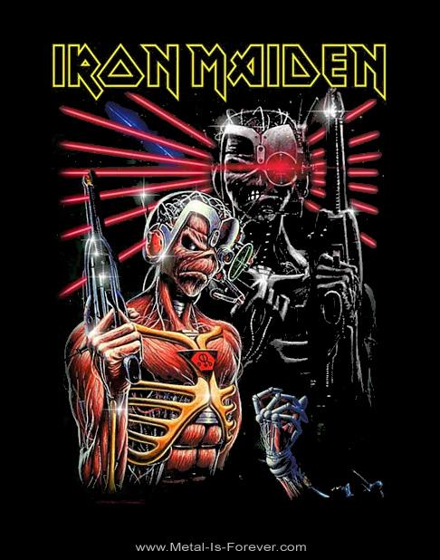 IRON MAIDEN -アイアン・メイデン- TERMINATE 「ターミネート」 Tシャツ