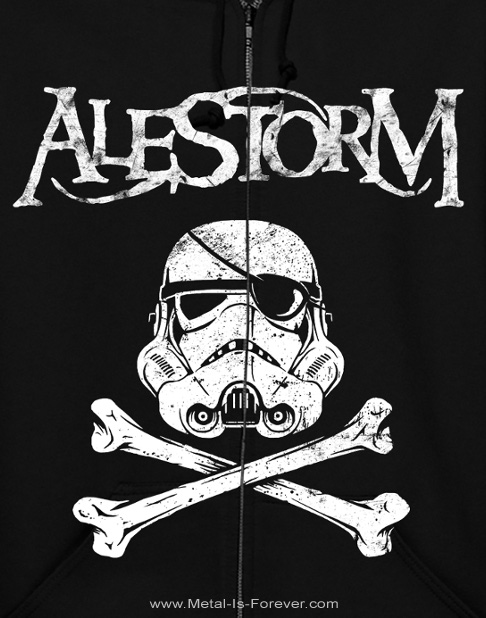 ALESTORM -エイルストーム- LACK OF RUM 「ラック・オブ・ラム」 ジップ・パーカー