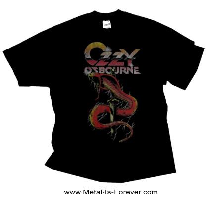 OZZY OSBOURNE -オジー・オズボーン- VINTAGE SNAKE 「ヴィンテージ・スネイク」 Tシャツ