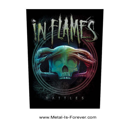 IN FLAMES (イン・フレイムス) BATTLES 「バトルズ」 バックパッチ