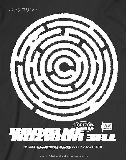 BRING ME THE HORIZON (ブリング・ミー・ザ・ホライズン) LABYRINTH 「ラビリンス」 Tシャツ